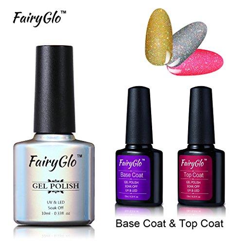 12pcs Wine Red Nail Polish UV LED Soak Off Nail Art Salon Gel Manicure Starter Kit Gift Set 001 By FairyGlo