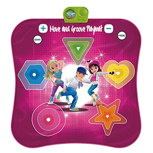 Kids Electronic Music Play Mat, Color Dance Pad Soft Baby Early Education Portable Music Dance Keyboard Carpet