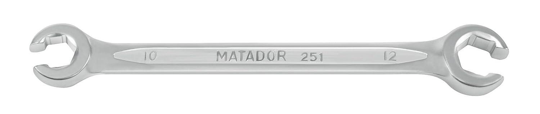 0251 9050 Matador Open Doppelringschl/üssel Kit 19 x 22 mm 5 Teilig 8 x 10