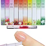 5 Pcs New Cuticle Revitalizer Oil Nail Art Treatment Manicure Soften Pen Tool