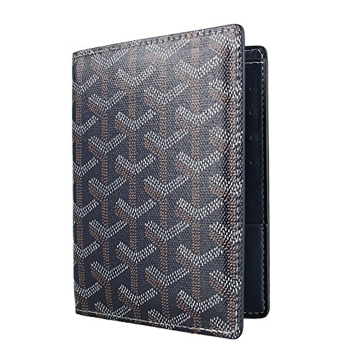 - Stylesty Designer Passport Holder Travel Wallet,PU Leather Passport Cover/ Case for Men & Women (dark blue)