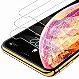 Syncwire iPhone XS Max Screen Protector (3-Pack), Anti-Fingerprint Tempered Glass for iPhone Xs Max (9H Hardness, 6X Stronger, Installation Frame, Bubble Free) [Not Edge to Edge]