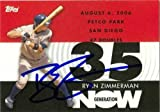 Ryan Zimmerman autographed Baseball Card (Washington Nationals) 2007 Topps Generation NOW #GN253
