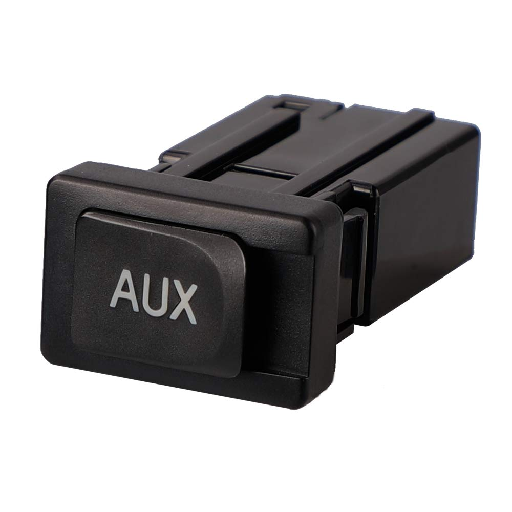 Sushiyi Gear Aux Port for Toyota Camry Highlander Matrix Venza 09-12 Auxiliary Aux Stereo Adaptor Input Jack 86190-02020
