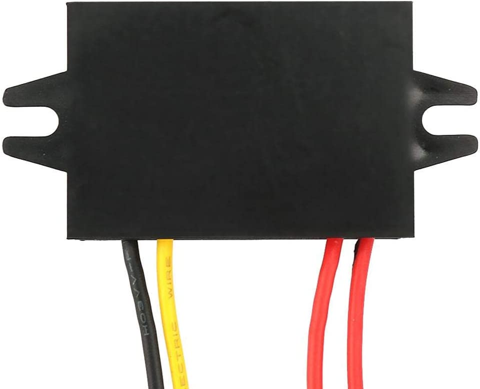 Step Down Voltage Convertor AC 10-28V to DC 12V Buck Voltage Regulator Waterproof Power Module for Car Waterproof Step Down Module 3A