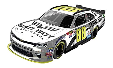Lionel Racing Kevin Harvick #88 Bad Boy Buggies 2016 Chevy Camaro Color Chrome NASCAR 1:24 Scale Diecast Car