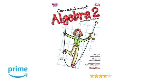 Amazon.com : Cooperative Learning & Algebra 2 (Grades 9-12 ...