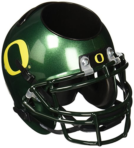 NCAA Oregon Ducks Mini Helmet Desk Caddy (Oregon Ducks Football Helmet)