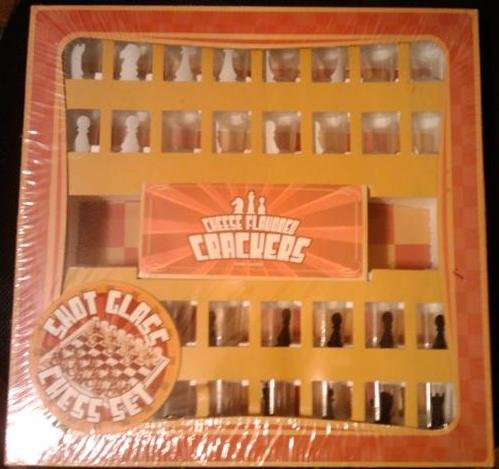 Shot Glass Chess Set Drinking Game from Sherwood Brands, - Sherwood Glasses