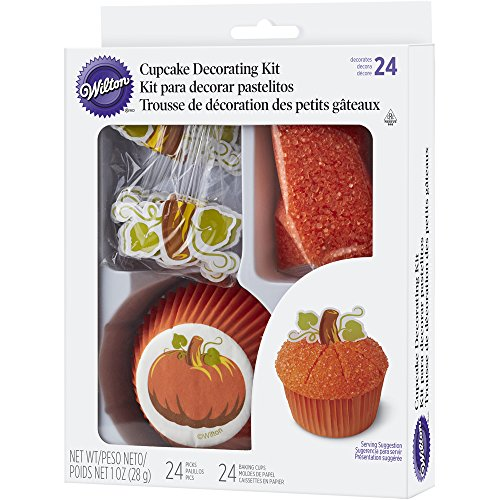 Wilton Pumpkin Cupcake Decorating (Wilton Halloween Cupcake Kits)