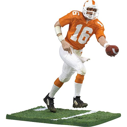 Ncaa Football College Series (McFarlane Toys NCAA COLLEGE Football Sports Picks Series 1 Action Figure Peyton Manning (Tennessee Volunteers))