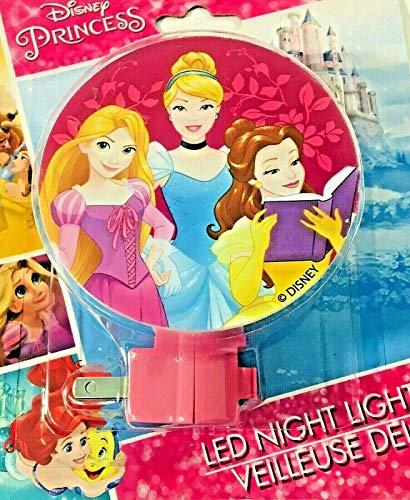Princess Light Disney Night - Disney Princess Night Light Rapunzel, Cinderella, Belle
