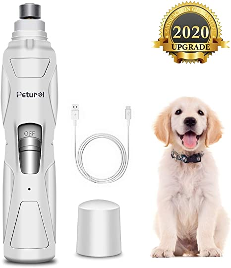 Dog Nail Trimmer Electric Toe Grinder Professional Grooming Battery Operated New