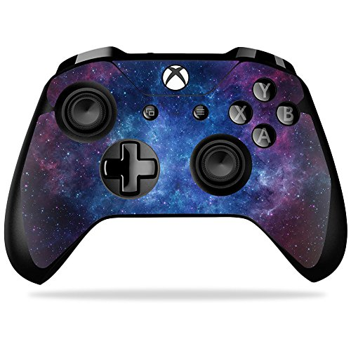 Skin for Xbox One X Controller - Nebula| MightySkins Protective, Durable, and Unique Vinyl Decal wrap cover | Easy To Apply, Remove, and Change Styles | Made in the USA from MightySkins