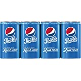 Pepsi Made with Real Sugar, Mini-Cans (8 Count, 7.5 Fl Oz Each)