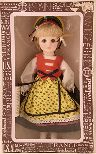 1983 - Effanbee Doll Corp - International Series - Poland 11 Inch Doll - Original Box & Tags - Out of Production - Rare - Collectible