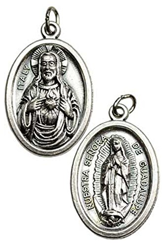 Our Lady of Guadalupe Protection Amulet Necklace for sale  Delivered anywhere in USA