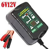 Intelligent Lead-acid Battery Charger Automatic Maintainer 6V/12V 1.5A 2 in 1 For Car