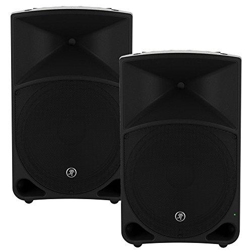 Mackie THUMP15 Powered 15'' Loudspeaker Pair 2000 Watt Bi-Amped Active Speakers THUMP15-Pr by Mackie