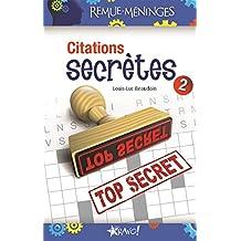 Citations secrètes 2