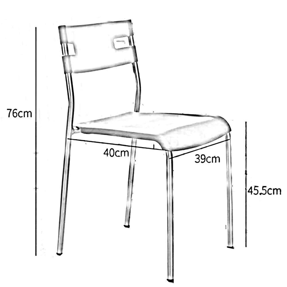 JIEER-C Fritidsstolar stol bekväm sits retro kontorsmottagning skrivbordsstolar ryggstöd paket – 2 hållbar stark gRÖN