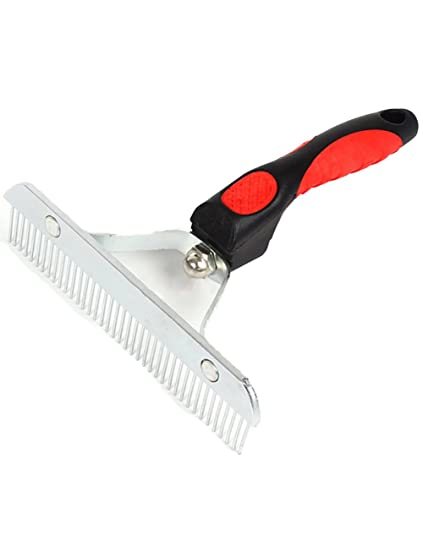 Pet brush Cepillo para Mascotas para Perros y Gatos. Pin para Cabello Corto, Mediano