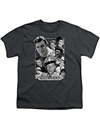Andy Griffith Mayberry Unisex Youth T Shirt For Boys and Girls