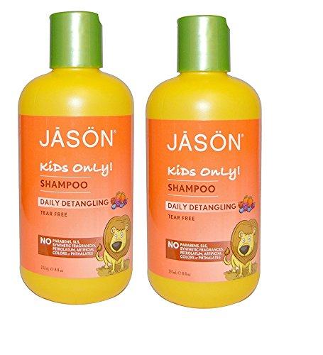 Hain Jason Kids Daily Detangling Shampoo 8OZ - Set of 2
