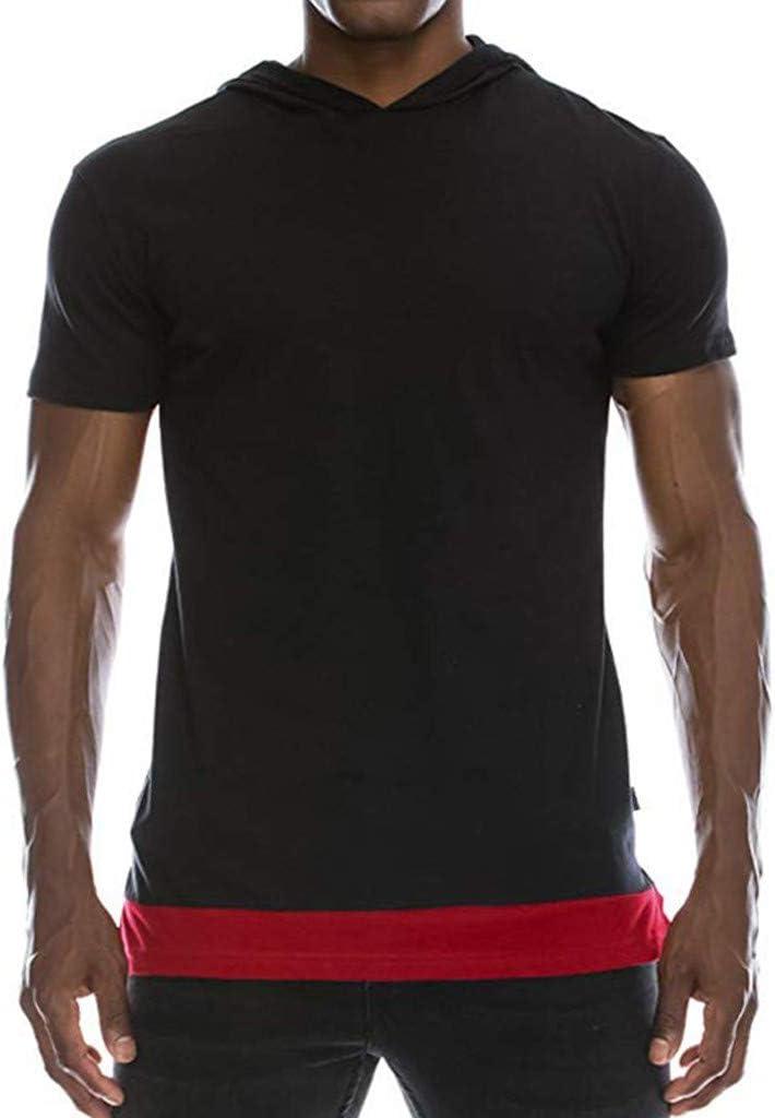 Casual Polos Manga Corta para Hombre Costura en Contraste Escote Camiseta Camisas Hombre Camisas Verano Primavera Deporte Golf Tennis T-Shirt Oficina Jodier: Amazon.es: Hogar