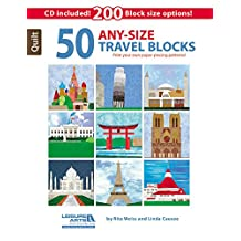50 Any-Size Travel Blocks
