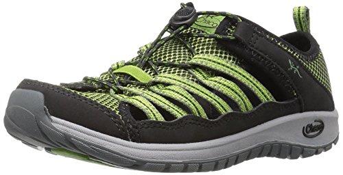Chaco Boys' Outcross 2 Water Shoe, Dark Moss, 3 M US Little Kid