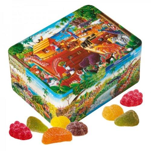 Churchills Noahs Ark Tin with Natural Fruit Jellies 400 ()