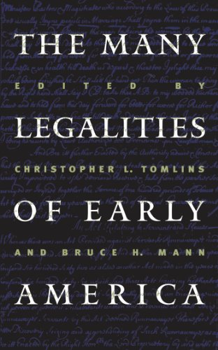the-many-legalities-of-early-america-published-for-the-omohundro-institute-of-early-american-history