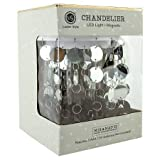 Locker Style Accessories - Chandelier-Magnetic - Silver