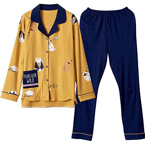 Vestire Button Dormire 复制 Photo Da Homewear Color Set Pigiama Camicetta Pigiameria A Pyjamas Notte Vestito Pantaloni Mmllse V Pantaloni Con Scollo E71qOdqxw