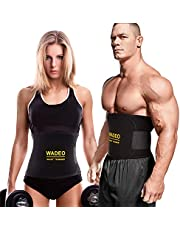HK Fitnessgordel, instelbare taille-trimmer/buikweggordel/zweetgordel, buikgordel afslanken, buikgordel vet-wegriem, fitnessriem, met neopreen materiaal voor dames en heren bodybuilding