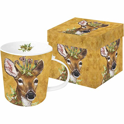 Paperproducts Design Mug In Gift Box Featuring Woodland Princess Design, 5 x 4 x 4