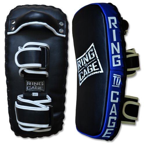 Pro Curved Thai Pad for Muay Thai, MMA, Kickboxing by Ring to Cage