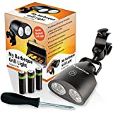 My Barbeque Grill Light LED Lights Grills for the Best Patio, Lawn & Garden Outdoor BBQ Charcoal Grilling in All Weather. Handle-Mount Touch Sensor Switch Fully Adjustable Lighting + Accessories.