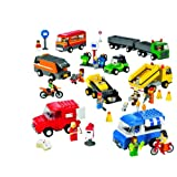 LEGO Education Vehicles Set - Trucks, Motorcycles, and Cars