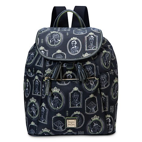 disney-dooney-bourke-portraits-haunted-mansion-backpack-new-with-tags