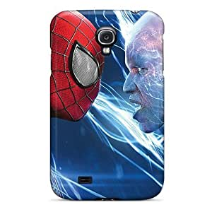 Awesome LzHEEsx224ncLgU Saraumes Defender Tpu Hard Case Cover For Galaxy S4- Spiderman Electro Max Dillon