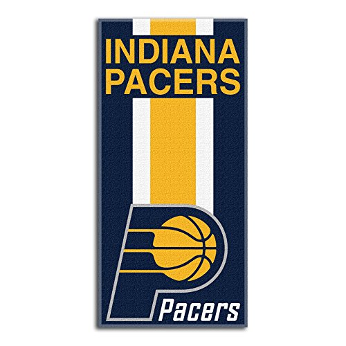 fan products of Northwest NBA Indiana Pacers Beach Towel, 30 X 60 Inches