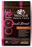 Wellness CORE Natural Dry Grain Free Small Breed Dog Food, Turkey & Chicken, 12-Pound Bag