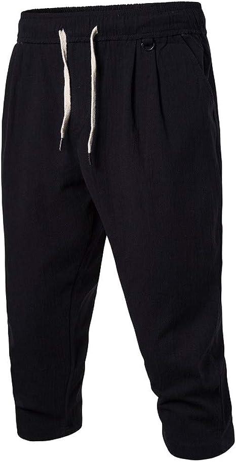 Mens Pantalone Pantalon Bombachos Hombre Pantalones Blancos ...