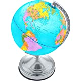 Best World Globes - Illuminated Kids Globe with Stand - Educational Learning Review