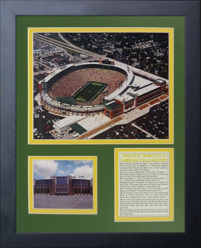 Legends Never Die Green Bay Packers New Lambeau Field Framed