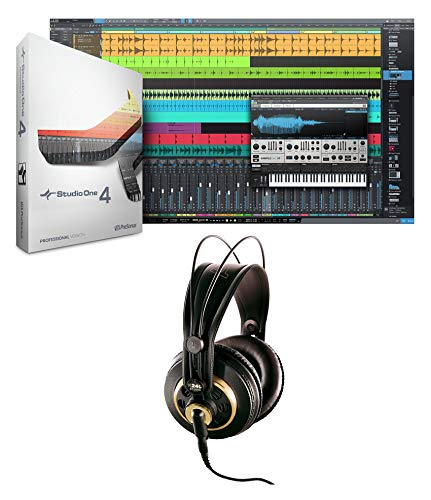Presonus Studio One 4 Upgrade from Pro/Producer Version 1/2/3 to 4+AKG Headphone