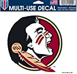 Wincraft NCAA Florida State University Multi-Use Colored Decal, 5'' x 6''