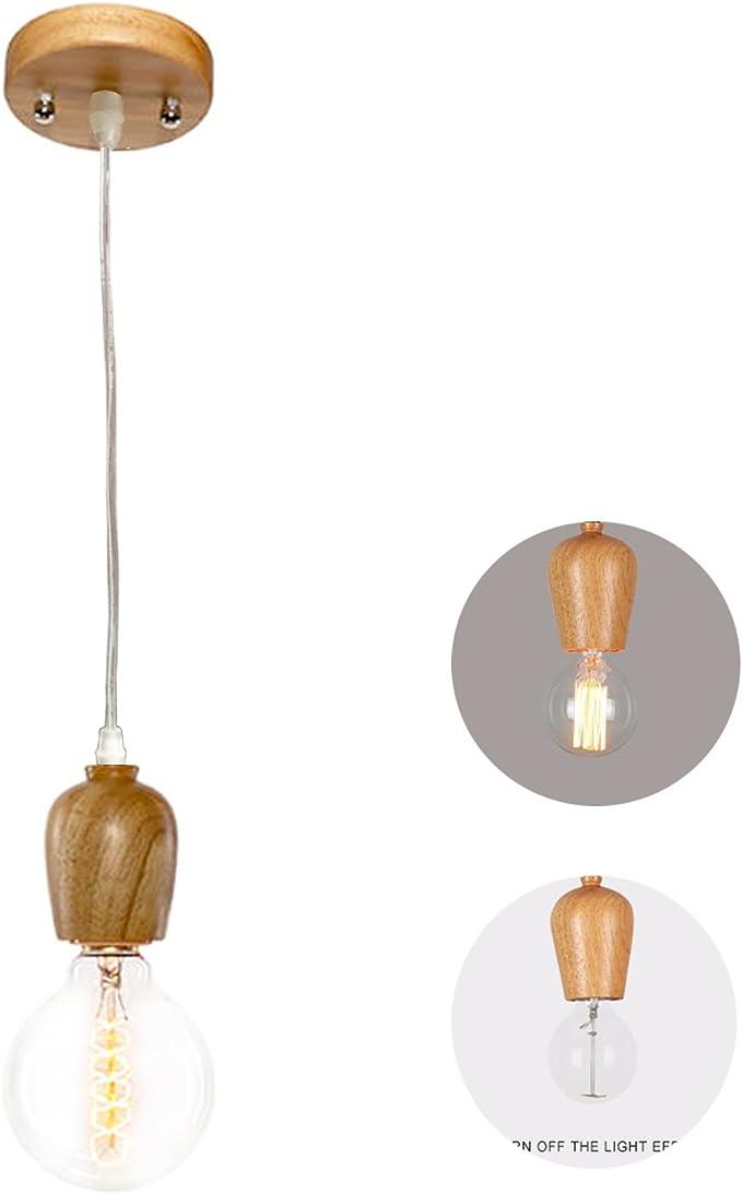 Pendelleuchte Vintage 1 Flammig Mattschwarz-PEBA Deckenlampe E27 Fassung Retro Edison H/äNgelampe Esszimmer Mit Lampenfassung Und 1,5m Stoffkabel